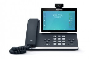 Yealink SIP-T58A with camera - Wideotelefon IP PoE z systemem Android i kamerą